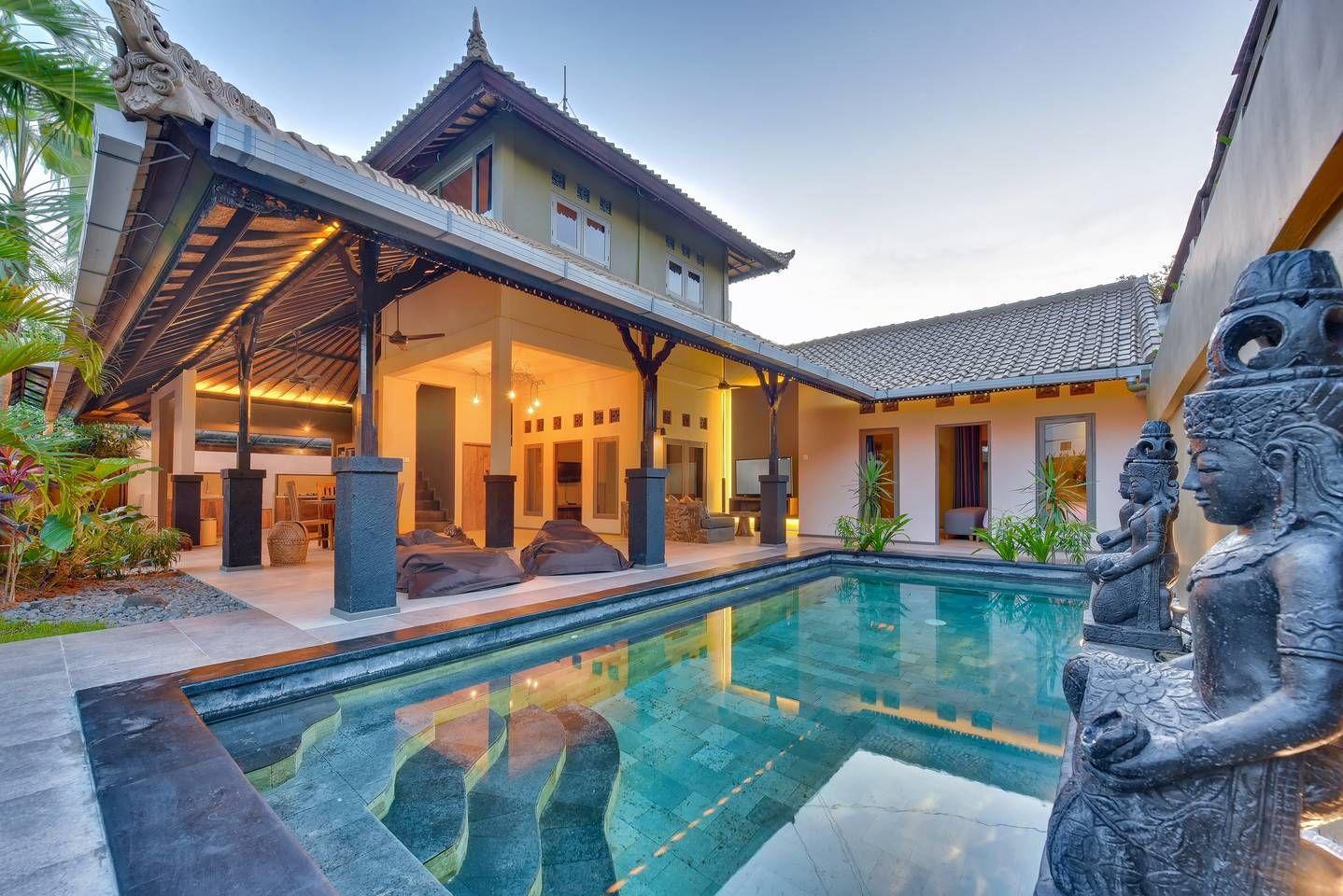 188 Per 6 Ppl 7 Dats 6 Nights Villa Samera Seminyak Oberoi Villas For Rent In Kuta Bali Indonesia Villa Property House Styles