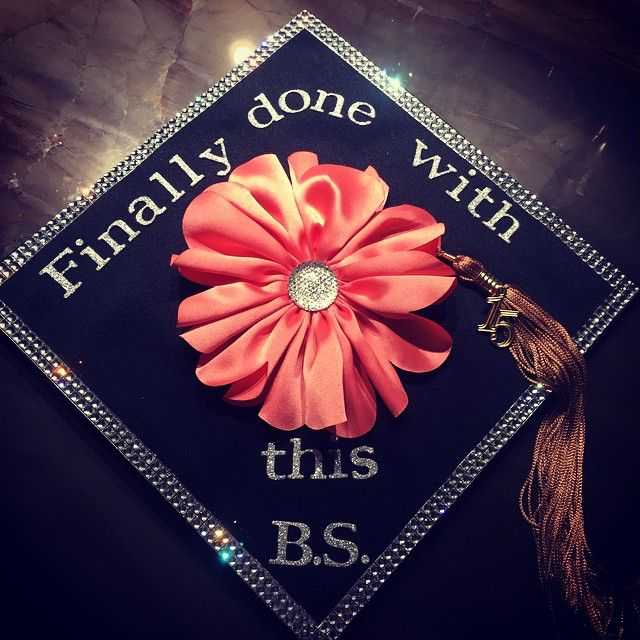 Finally done with this B.S. Graduation cap | College ...