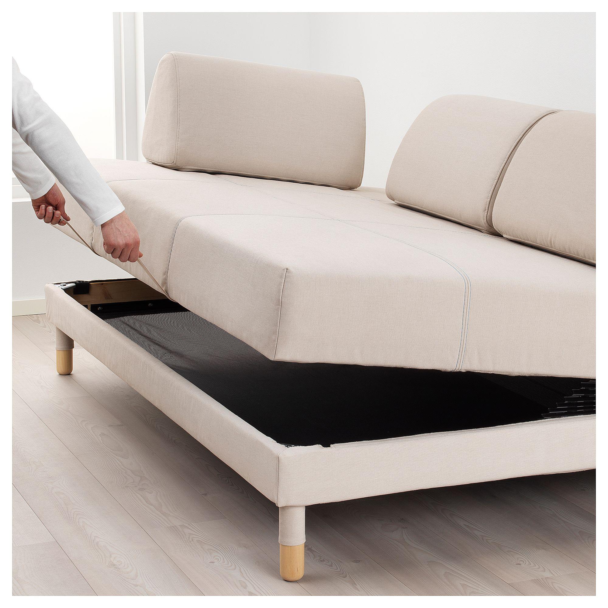 sofa bed support mat canada urban ikea flottebo sleeper with side table lofallet