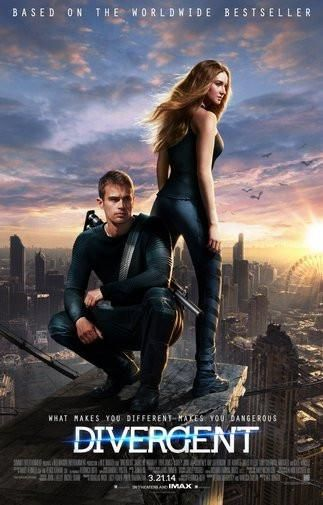 Divergent Movie Poster Puzzle Fun-Size 120 pcs | films in ...