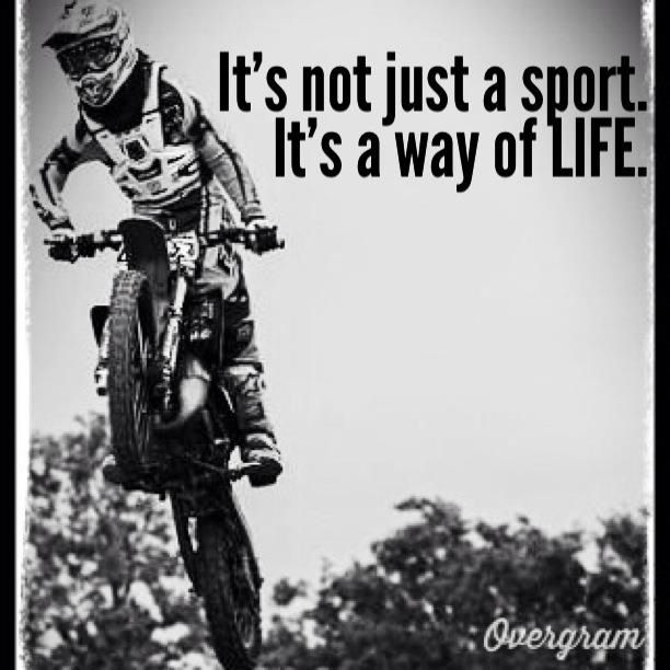 A Way Of Life Dirt Bike Quotes Dirt Bikes Motocross Girls