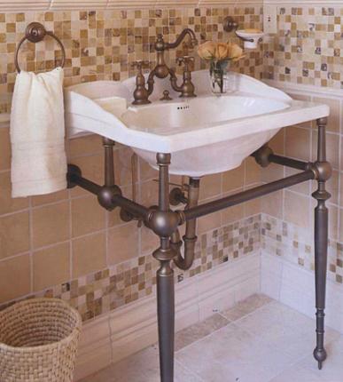33532b148f9 Empire Washbasin   Metal Washstand. Towel RingsBathroom ...