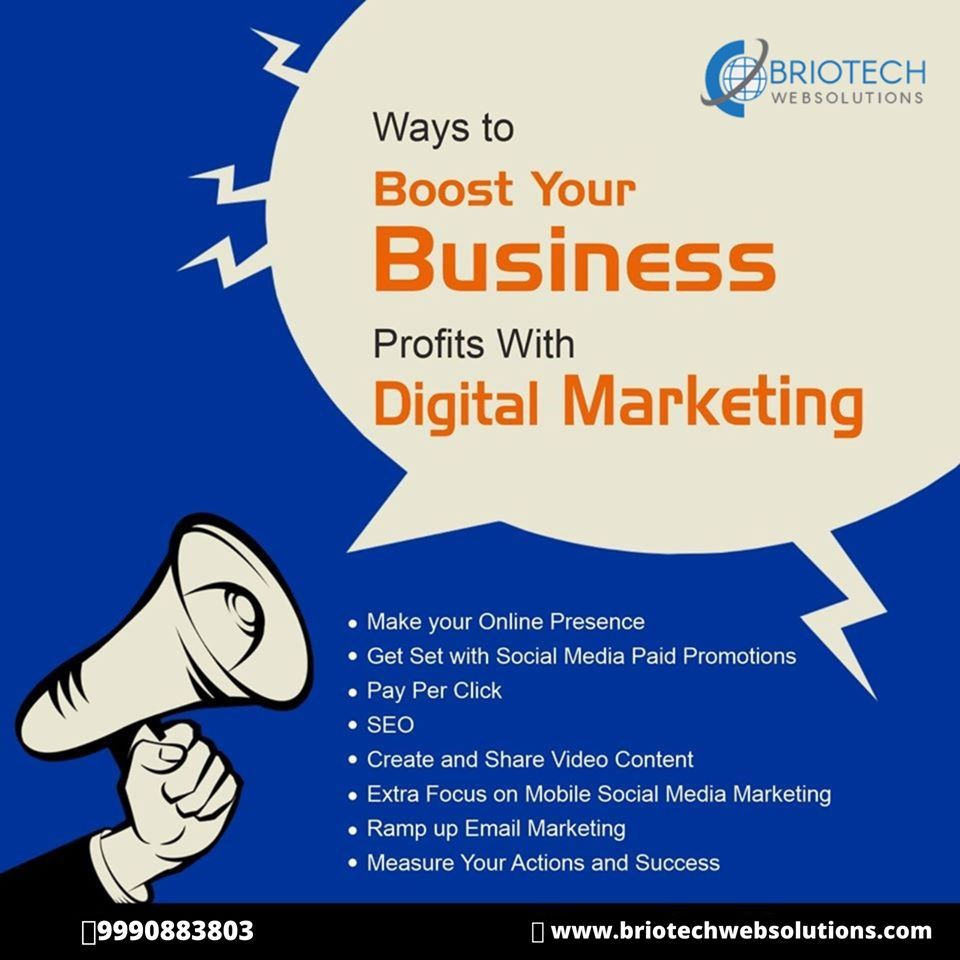 Best Digital Marketing Company In Delhi With Digital Marketing increase your profit and reach the highest count of the audience without putting much of efforts The below...
