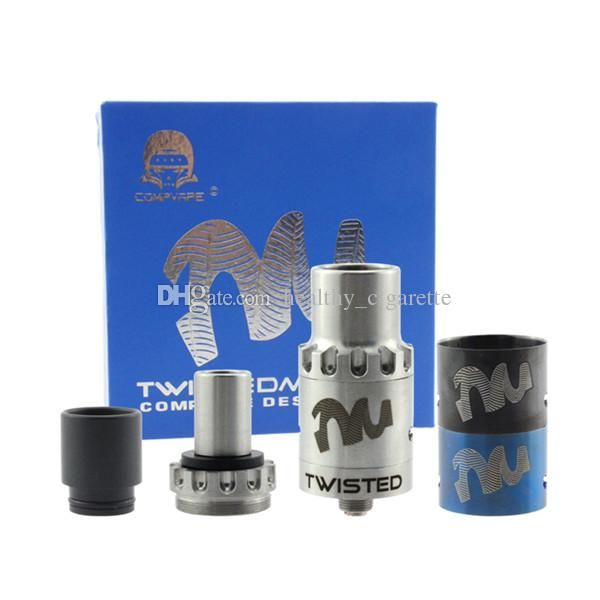 2015 Most Popular Twisted Messes Dripping Atomizer Twisted Messes RDA Clone 510 Ecigarette Fit 18650 Mechanical Mod Blue SS Atomizer Online with $7.81/Piece on Healthy_cigarette's Store | DHgate.com