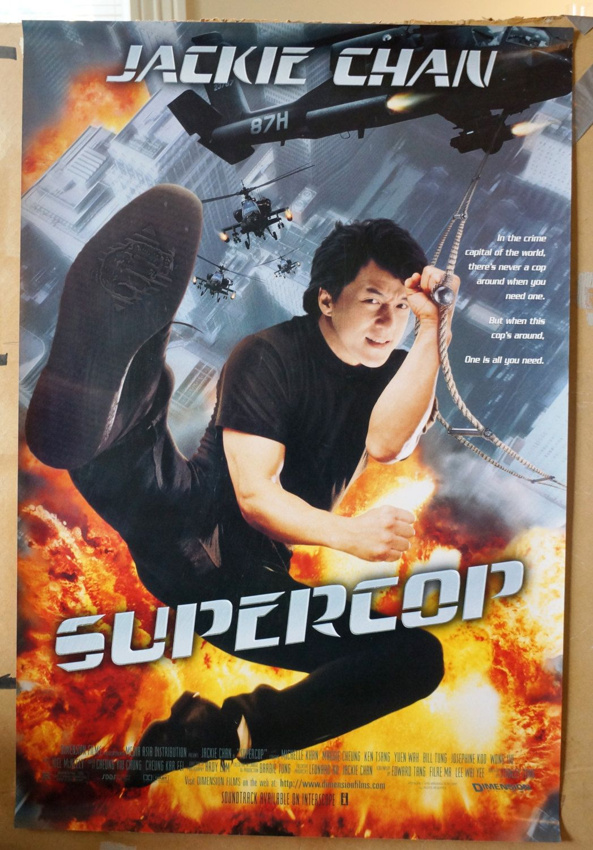 Movie Poster Supercop Jackie Chan Original Movie Poster One