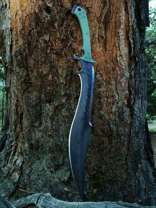 Sage combat sword