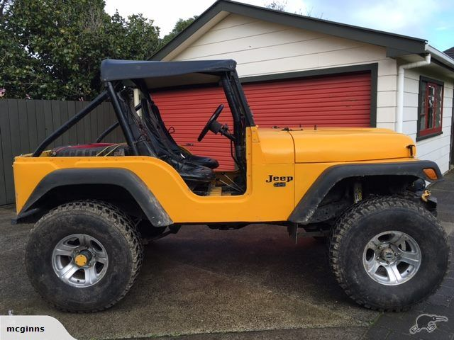 Jeep Other Cj 5 1975 Trade Me Badass Jeep Jeep Yellow Jeep