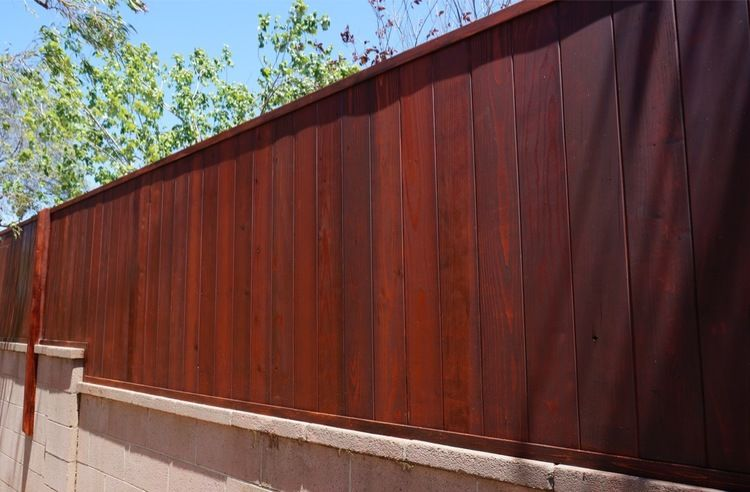 1 48 Tall Vertical Tongue And Groove Redwood Jarrah Brown Modern Fence Fence Design Fence Decor
