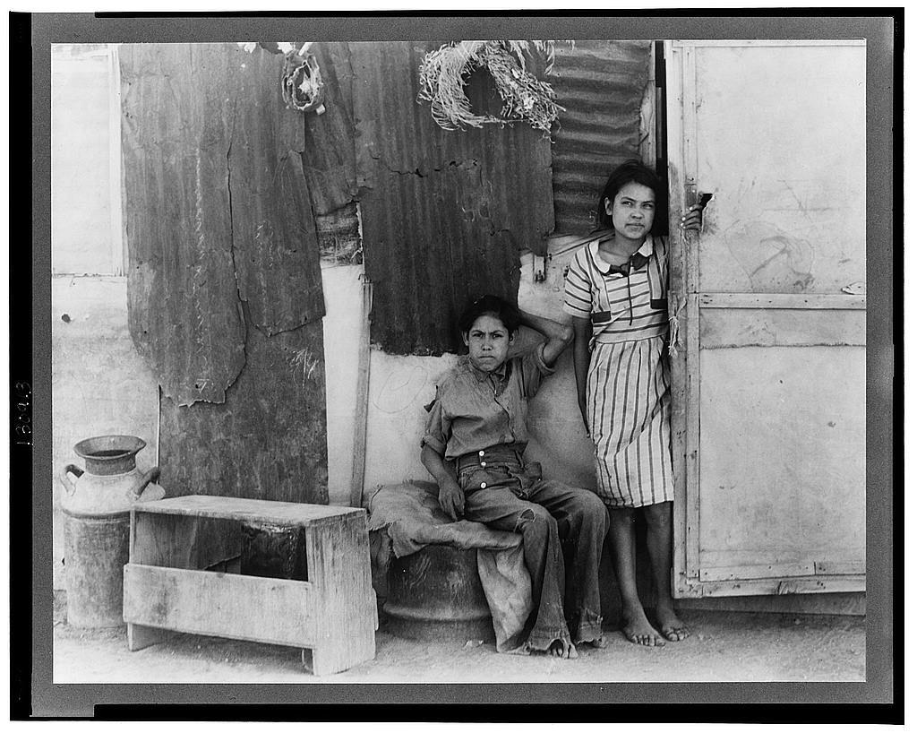 children of mexican cotton laborers casa grande arizona