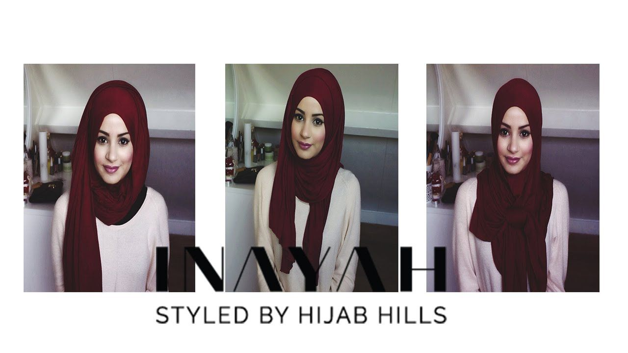 How To Style Your INAYAH Scarf Hijab Tutorial 3 Hijab Hijab