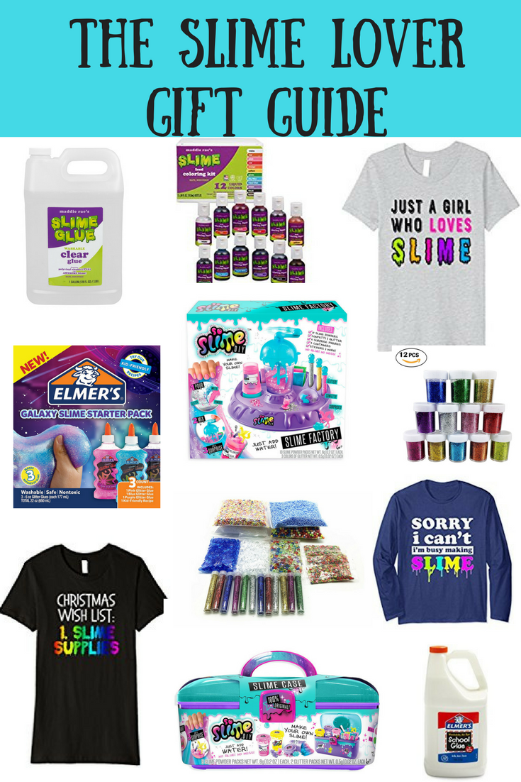 8d829e8f7 Gifts for Slime Lovers. Including slime supplies, slime accessories,  t-shirts and slime kits