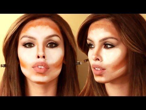 How to: Kim Kardashian Contour and Highlight Tutorial - YouTube ...