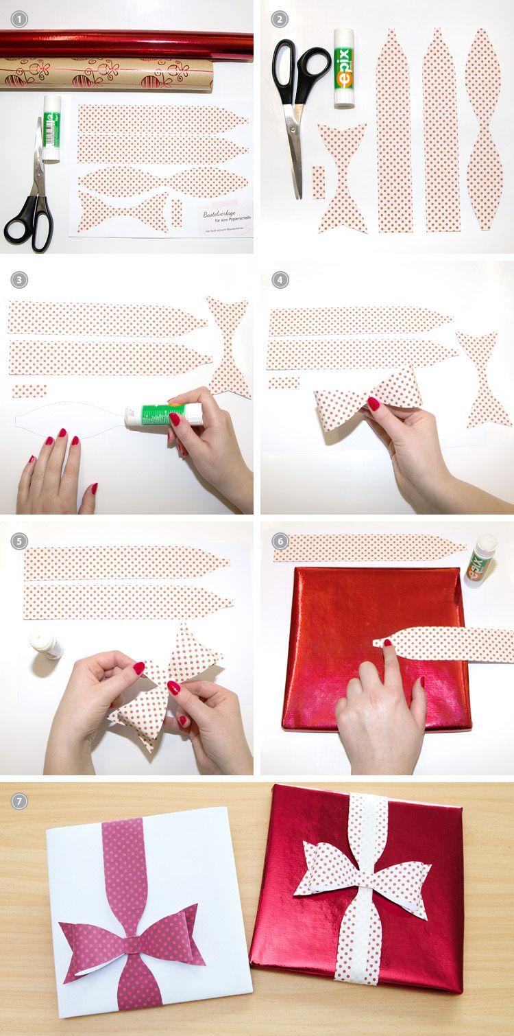 geschenk verpacken zu weihnachten die besondere schleife verpackung geschenke geschenke. Black Bedroom Furniture Sets. Home Design Ideas