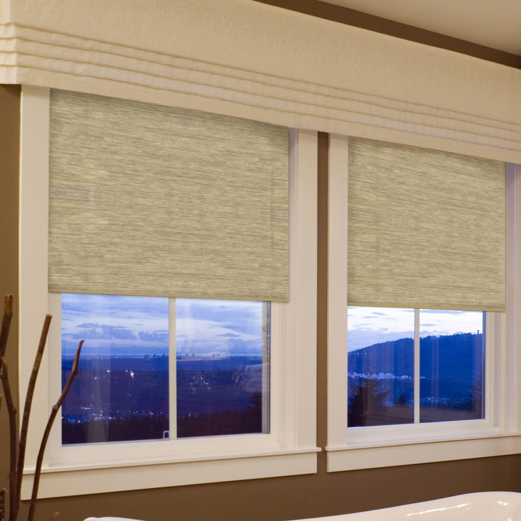 Coolaroo Cordless Roller Shade Cordless Roller Shade Room Darkening Window Shades Window Shades