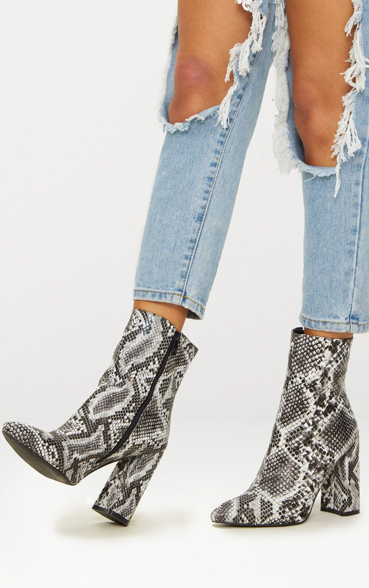 Black Snake High Point Ankle Boot in