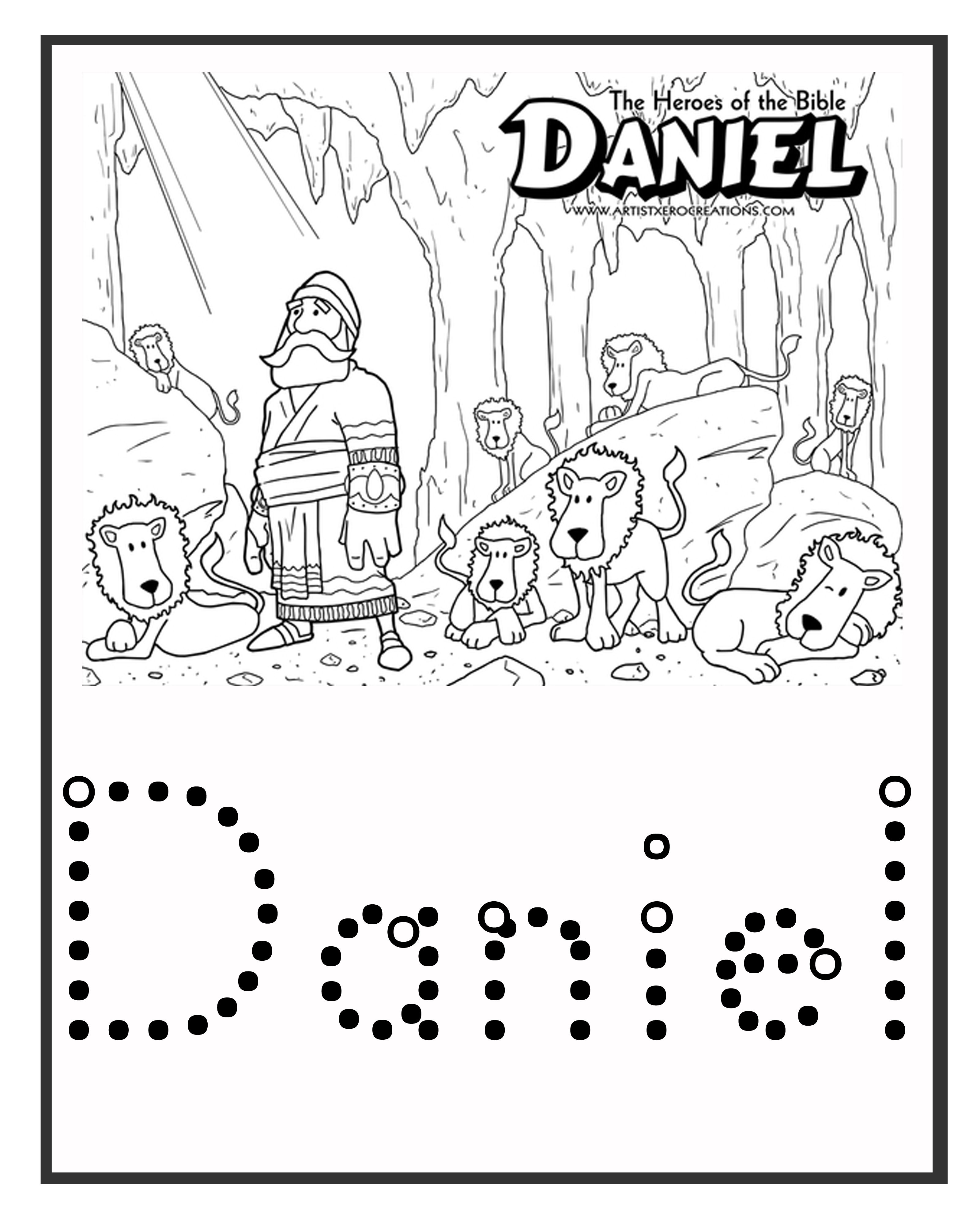 Have Student Put A Fusible Peg On The Word Daniel Great