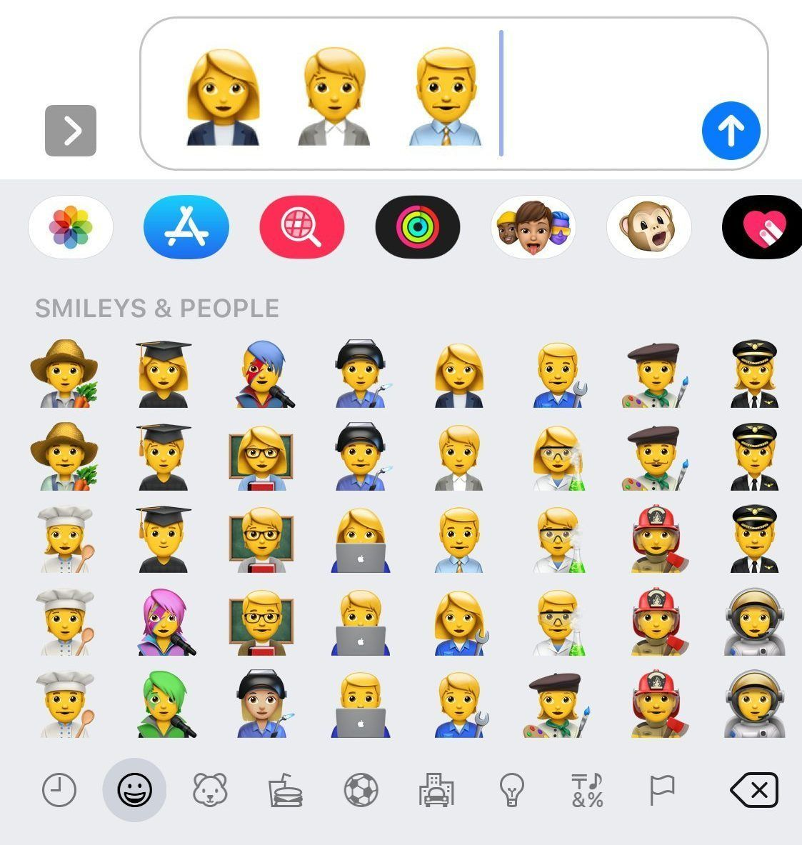 It Is A Misconception That Non Binary People Present As Androgynous Picture Emojipedia Apple Recently Released A Statem New Emojis Emoji Keyboard Ios Emoji
