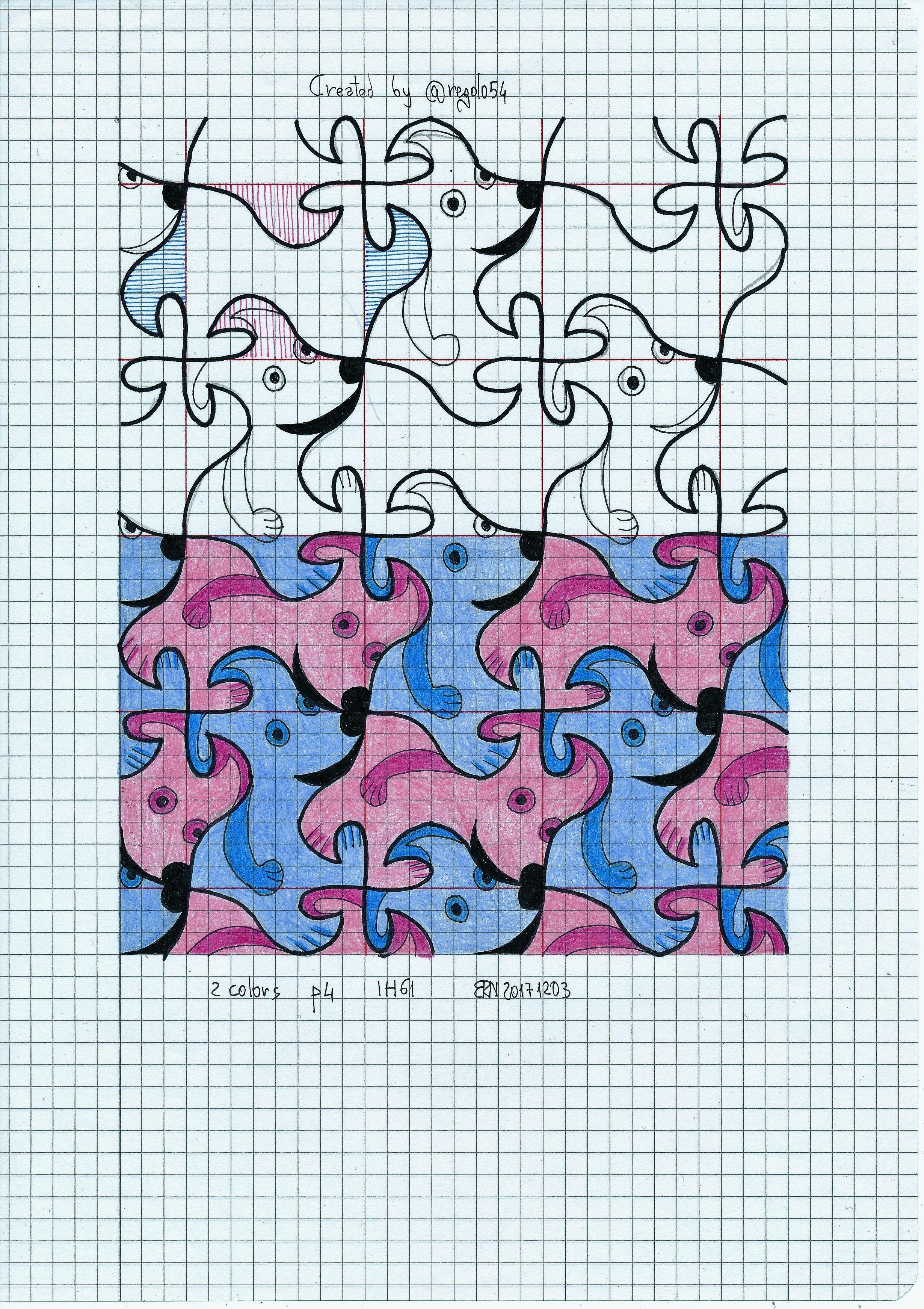 Tessellation Symmetry Geometry Pattern Handmade