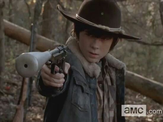 Carl don't blink.