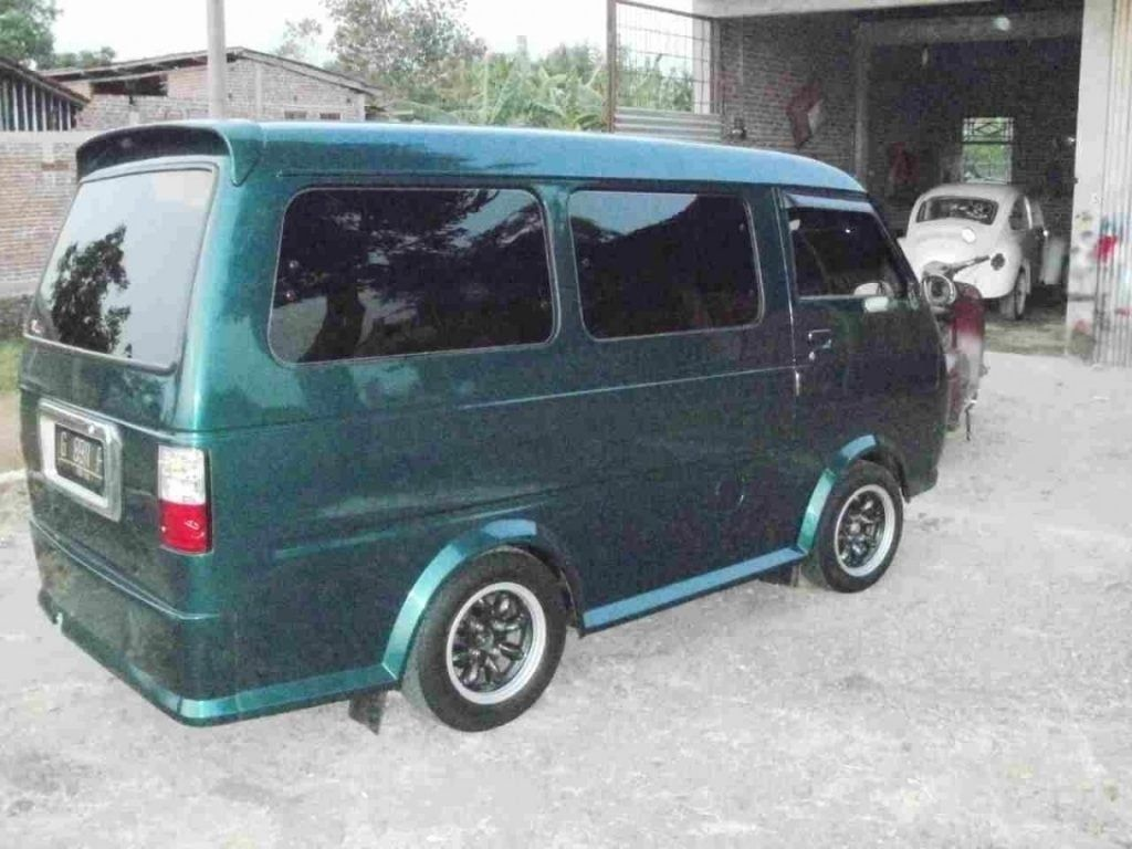 Modifikasi Mobil Suzuki Carry Minibus Di 2020 Modifikasi Mobil Mobil Mobil Konsep