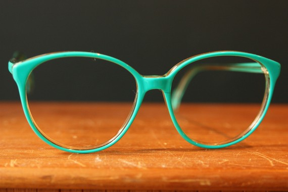 80s Teal Glasses - Apollo Optik