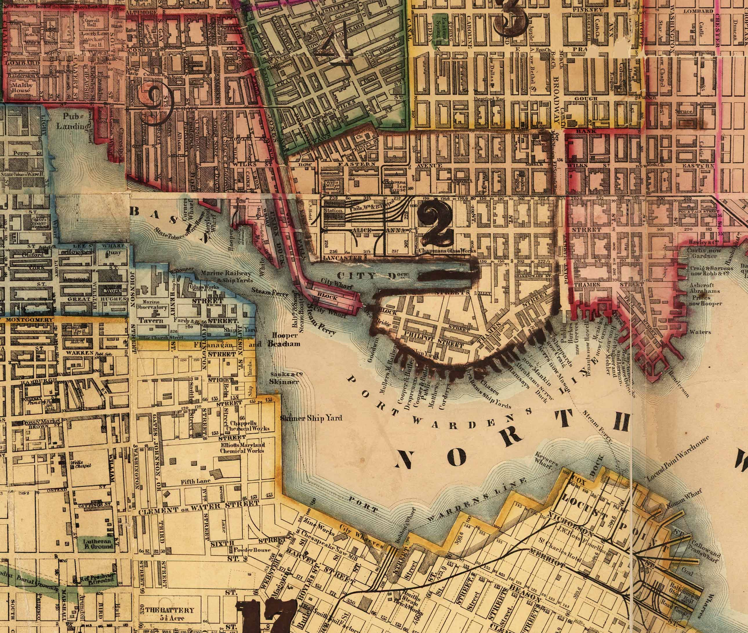 Image result for baltimore map Image result