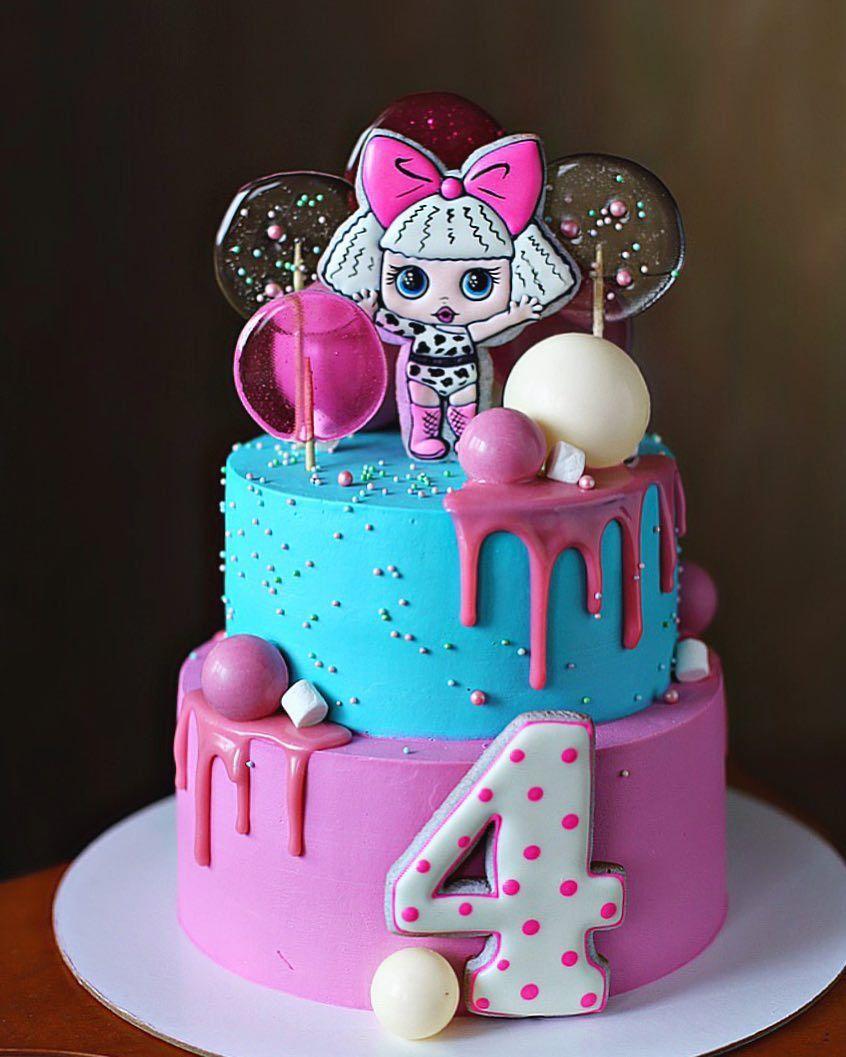 Нет описания фото. | Торт на день рождения, Детский торт ...