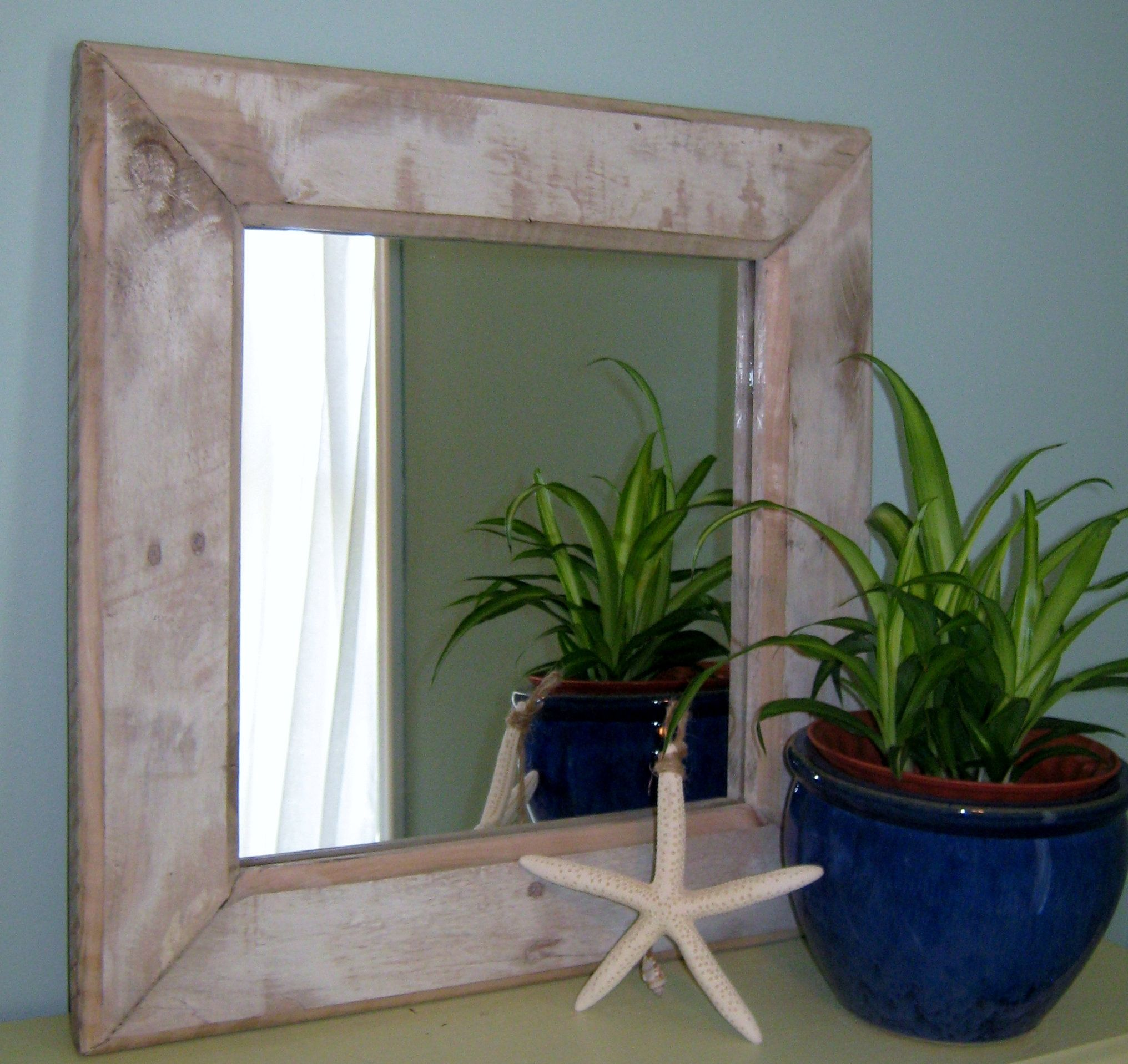 Rustic Wall Mirror Distressed White Wall Mirror Vanity Mirror Bathroom Mirror Wall Mirror T Rustic Wall Mirrors Wood Framed Mirror White Wall Mirrors [ 1918 x 2032 Pixel ]
