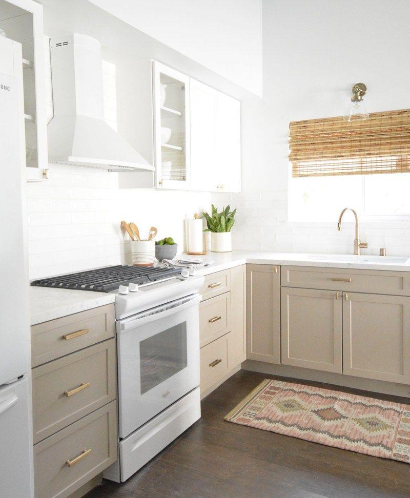 Centsational Style in 2020 | Beige kitchen, Beige kitchen ...