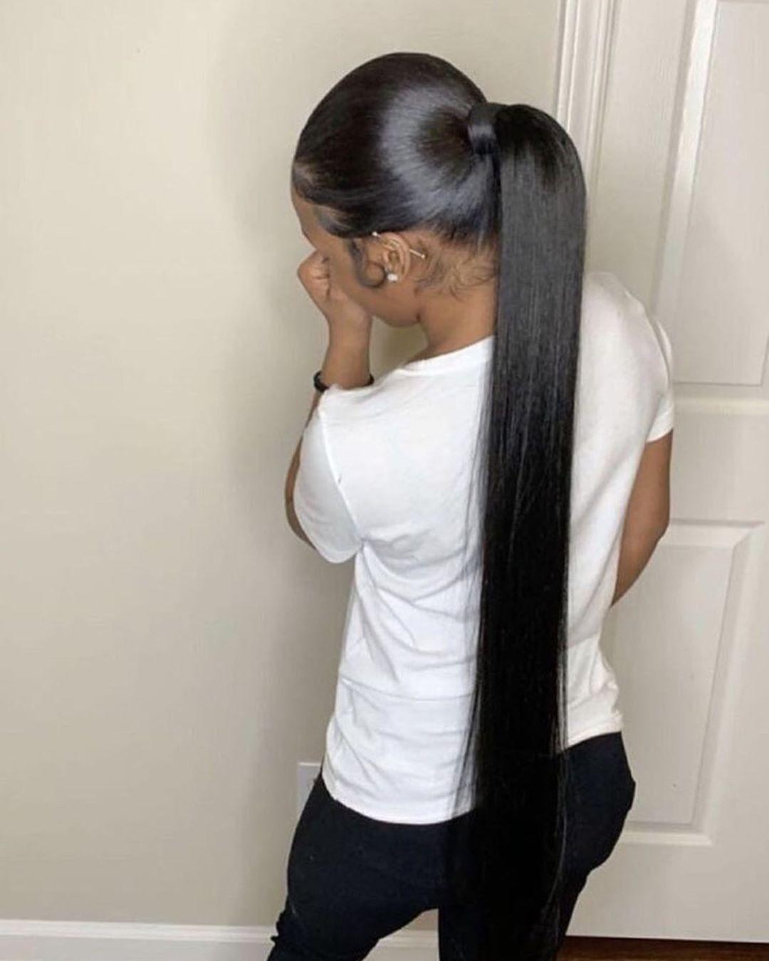 Pinterest Girly Girl Add Me For More Long Ponytail Hairstyles Hair Ponytail Styles Long Hair Styles