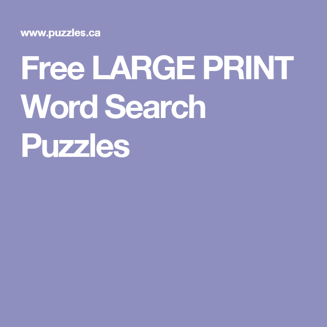 image relating to Free Printable Word Searches for Adults Large Print called Pin upon Phrase glimpse