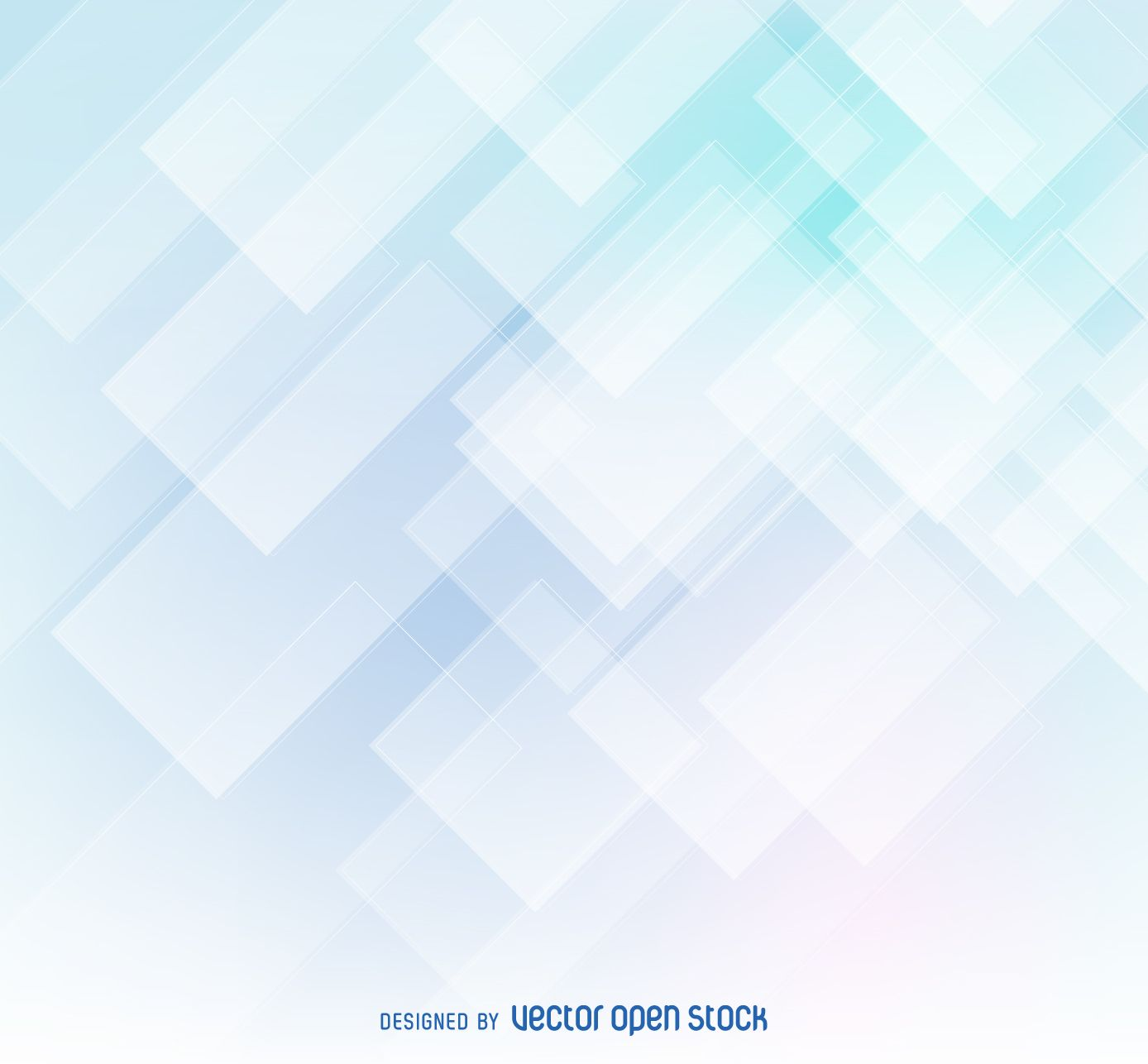 Abstract Background In Tones Of Soft Blue And White Design