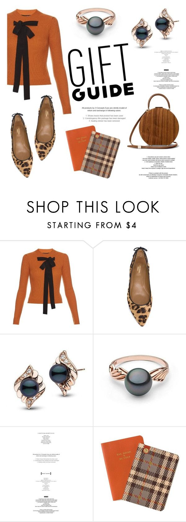 """""""Gift Guide: Besties"""" by pearlparadise ❤ liked on Polyvore featuring Rochas, Aquazzura, StyleNanda, Spartina 449, giftguide, besties, contestentry, pearljewelry and pearlparadise"""