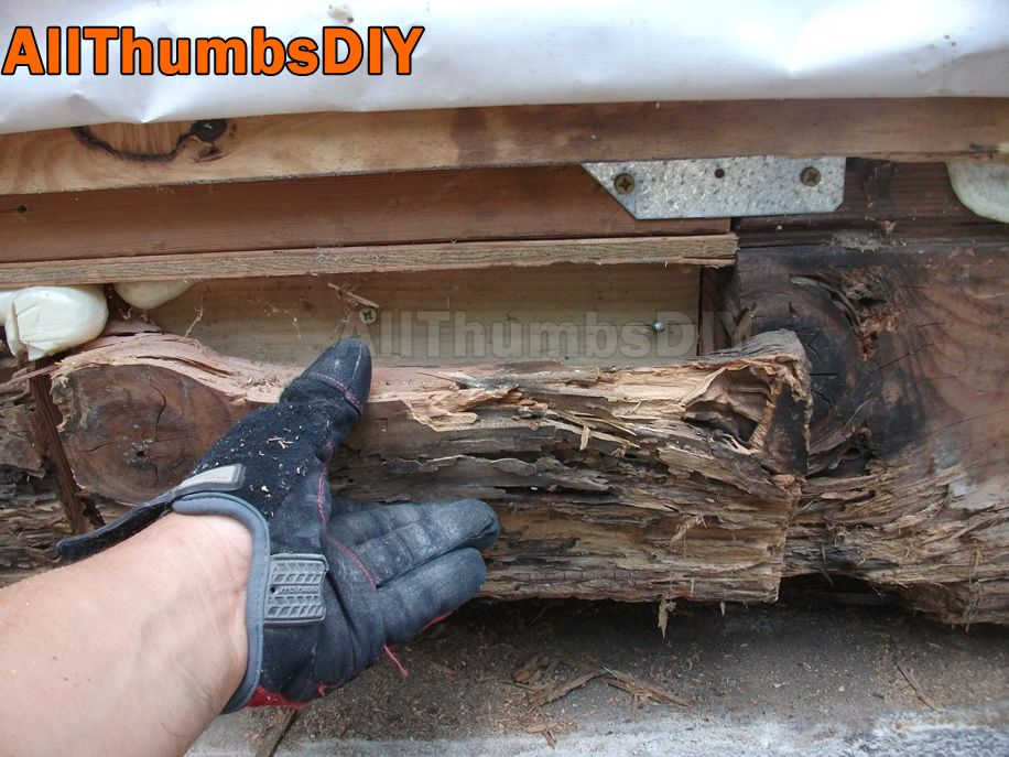 How I Replaced A Rotted Rim Joist And Sill Plates Part 4