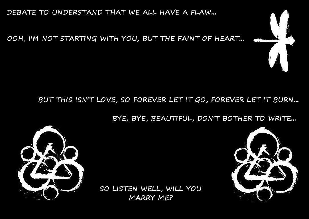 Coheed And Cambria Lyrics Coheed And Cambria Cambria Lyric Tattoos