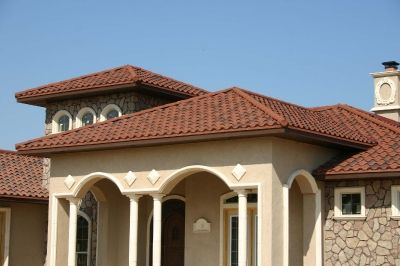 Best Residence Dalhart Tx Decra Villa Tile Rustico Clay 400 x 300