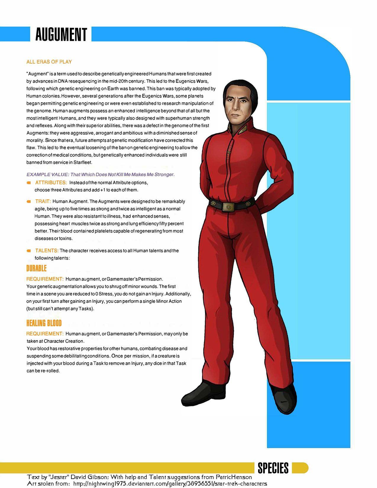 Ten Forward Fridays Human Augment Star Trek Species Star Trek Universe Star Trek Characters