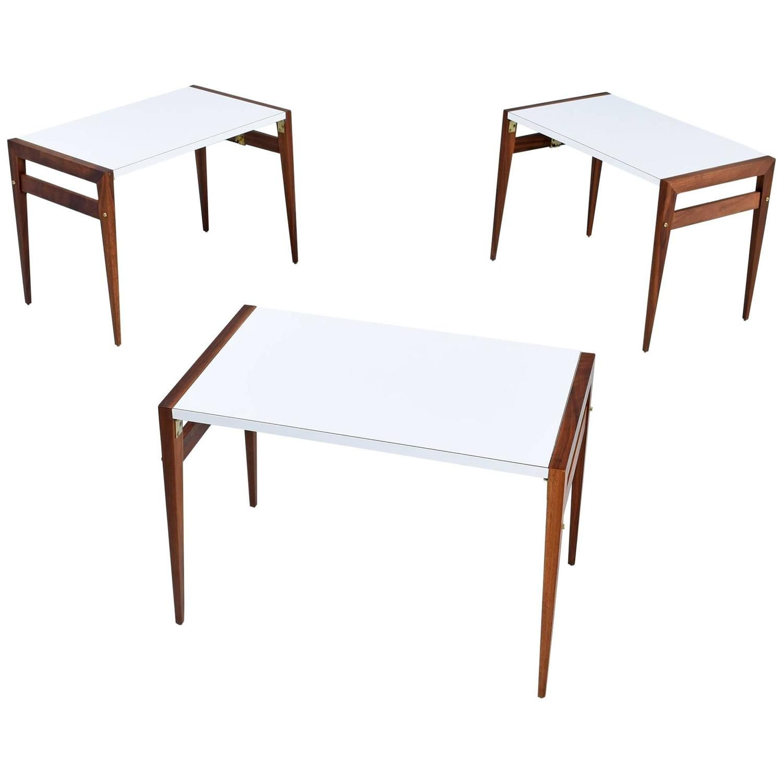 John Keal Folding Side Tables