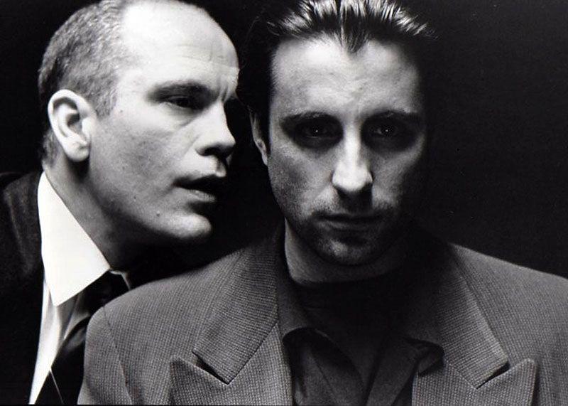 "John Malkovich y Andy Garcia para ""Jennifer 8″, 1992"
