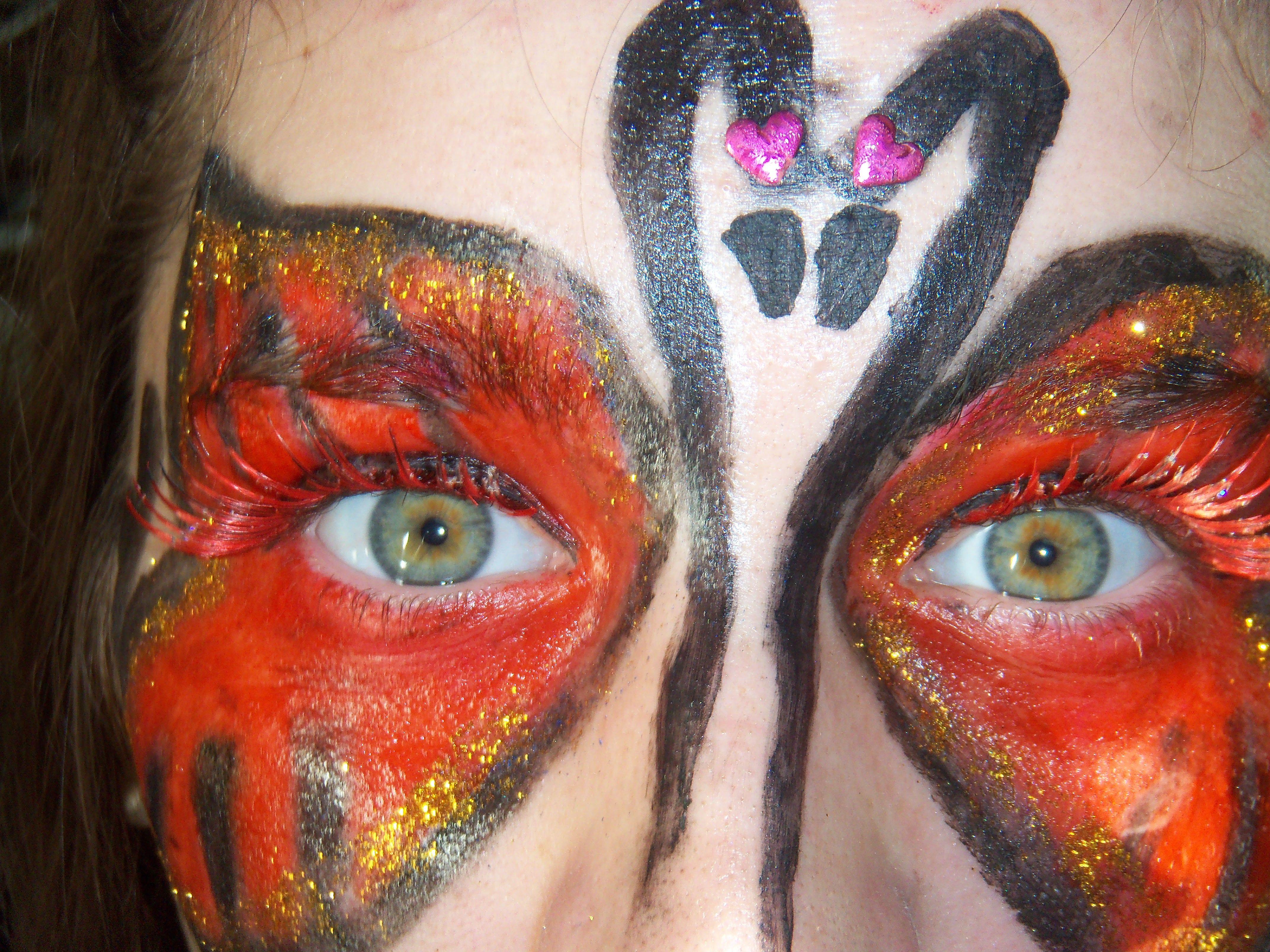 Maquillaje Artístico Antifaz