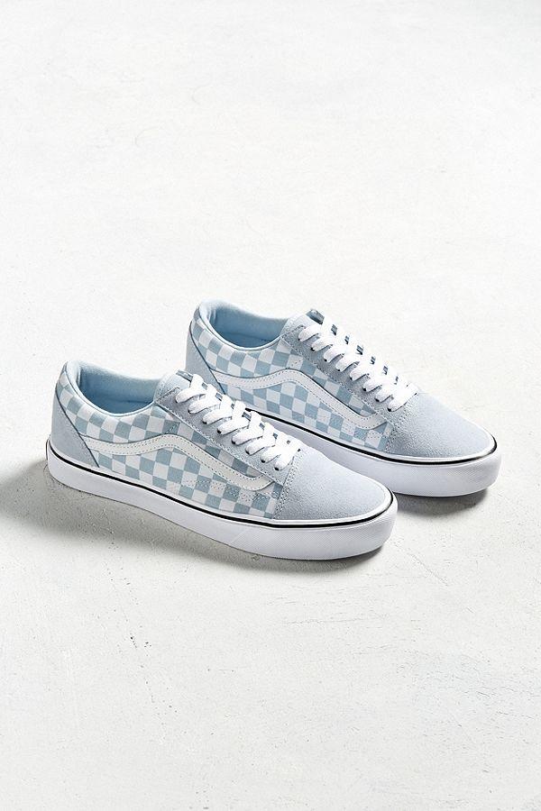 Vans Old Skool Lite Checkerboard Sneaker Vans Shoes Personalized Shoes Vans Shoes Girls