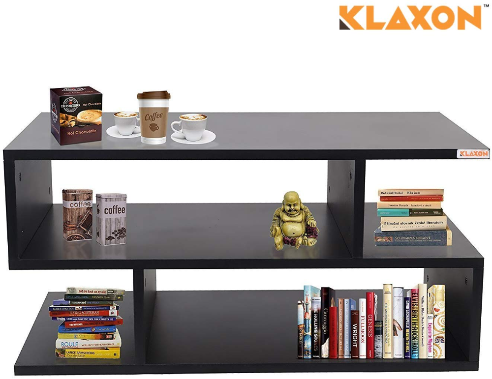 Klaxon Coffee Table Matte Finish Black Amazon In Home