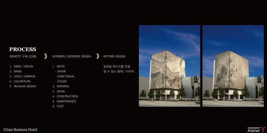 Ulsan business hotel Design, 울산비지니스호텔 디자인