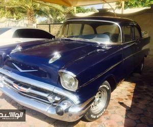 صور شفروليه بيل اير موديل 1957 للبيع في دبي لعشاق السيارات الكلاسيكية Cars Car Vehicles