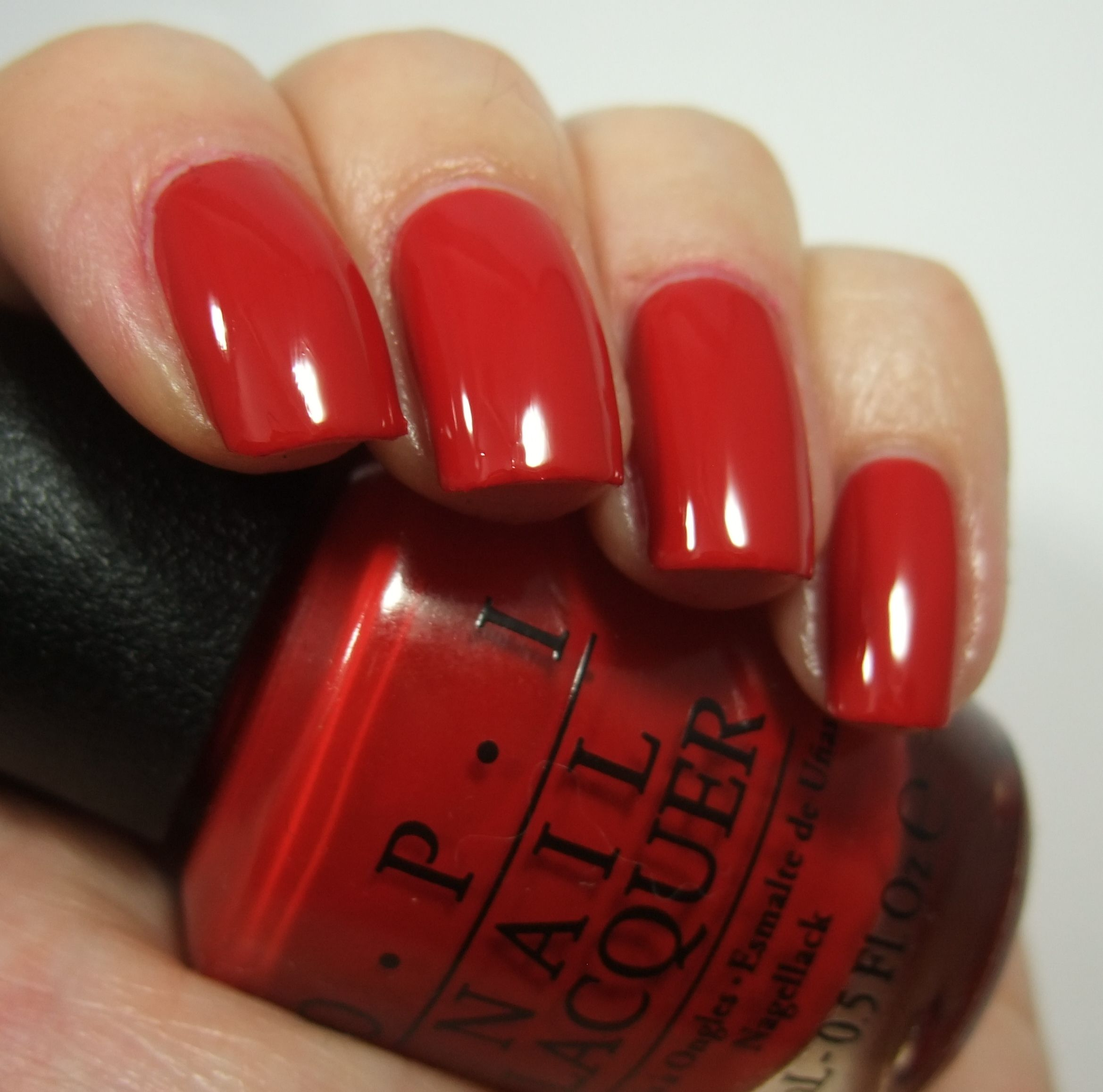 Opi Red, OPI, Red