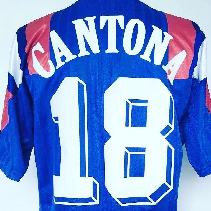 5edc1bfd2 Oh ah Cantona shirt  cultfootball Link in bio