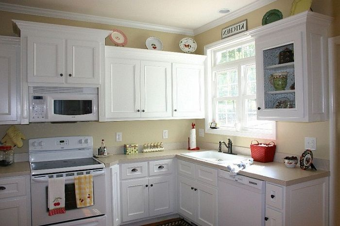 Kitchen Cabinets Painted In White ~ Httplanewstalkawesome New How To Paint Kitchen Cabinets White Inspiration