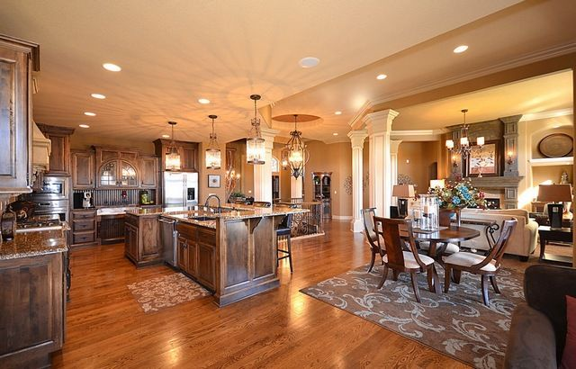 Open Floor House Plans One Story Open Floor House Plans Kitchen Floor Plans Kitchen Living Open concept house pros and cons