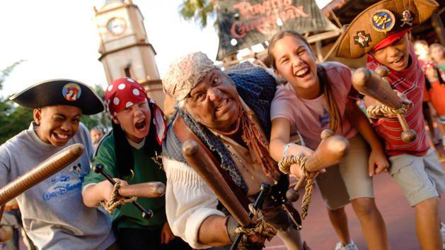 Captain Jack Sparrow's Pirate Tutorial at The Magic Kingdom