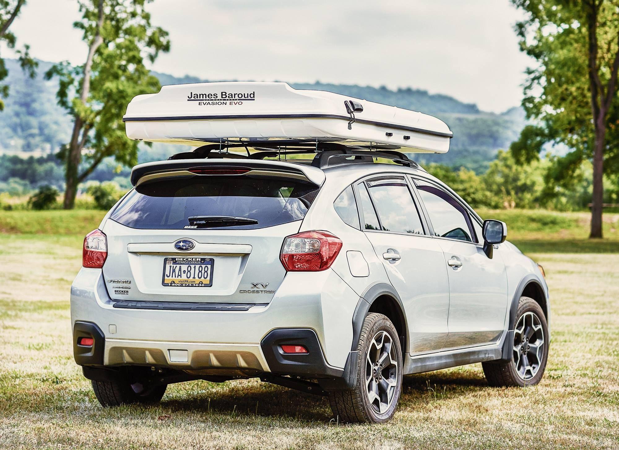 Subaru Xvcrosstrek James Baroud Rooftop Tent Rooftop